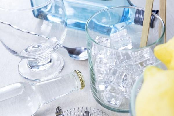 Fotos detalladas de la preparación de un Gin Tonic - paso 2
