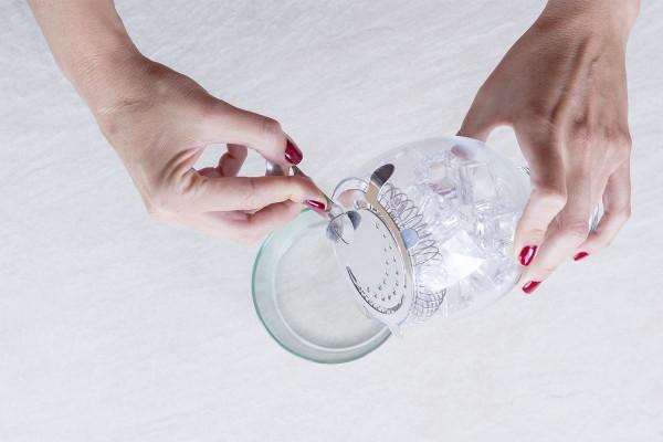 Fotos detalladas de la preparación de un Gin Tonic - paso 6